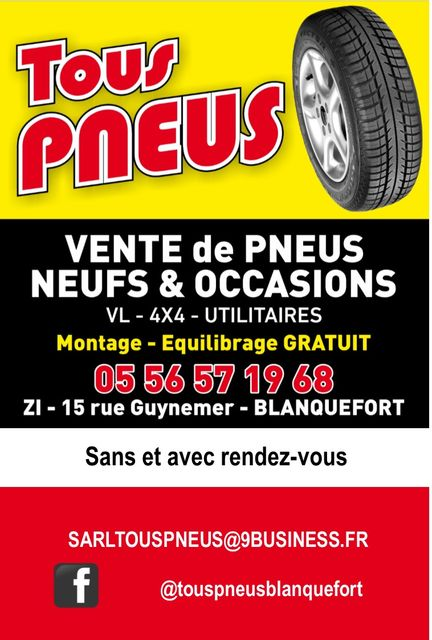 Tous pneus