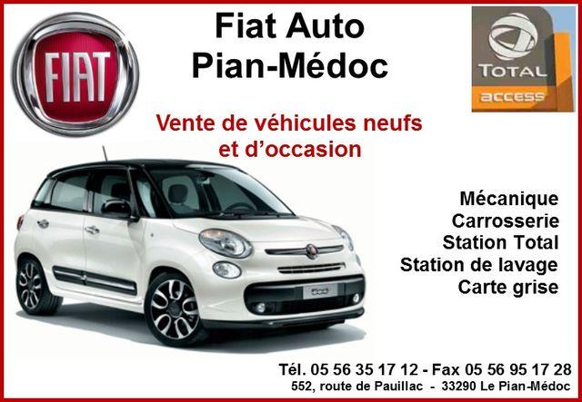 Fiat Auto Le Pian Medoc