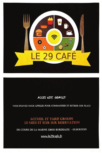 Le 29 Café